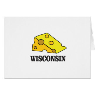 Wisconsin cheese head card