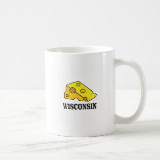 Wisconsin cheese head coffee mug