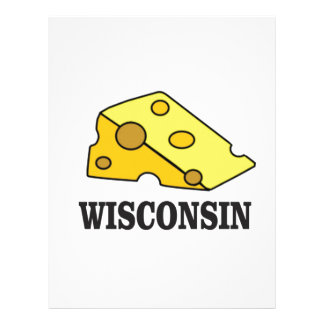 Wisconsin cheese head letterhead