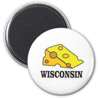 Wisconsin cheese head magnet