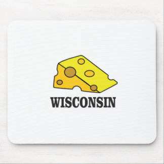 Wisconsin cheese head mouse pad
