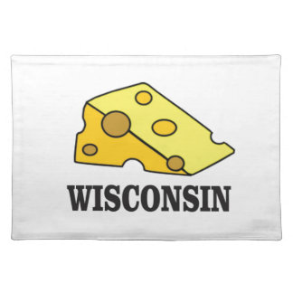 Wisconsin cheese head placemat