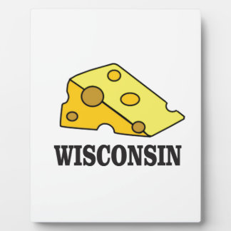 Wisconsin cheese head plaque