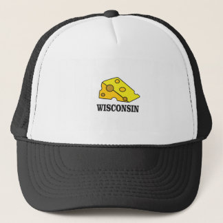 Wisconsin cheese head trucker hat