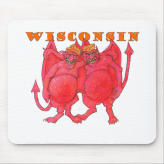 Wisconsin Cheesehead Demons Mouse Pad