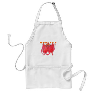 Wisconsin Cheesehead Demons Standard Apron