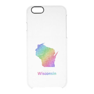 Wisconsin Clear iPhone 6/6S Case