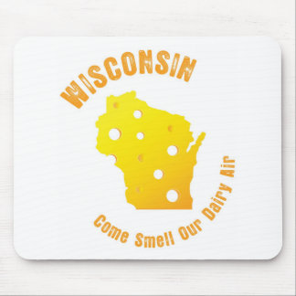 Wisconsin Come Smell Our Dairy Air Mouse Pad