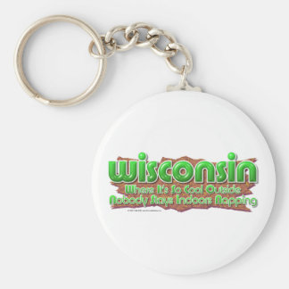 Wisconsin Cool Keychain
