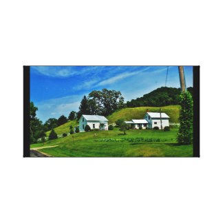 Wisconsin Countryside Canvas Print