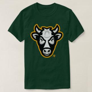 Wisconsin Cow Men's Tee (Forest Green)