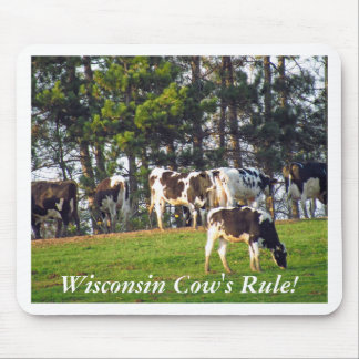 Wisconsin Cow s Rule Mouse Pad