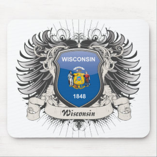 Wisconsin Crest Mouse Pad