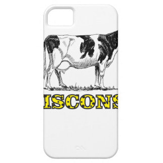 Wisconsin dairy cow iPhone 5 case