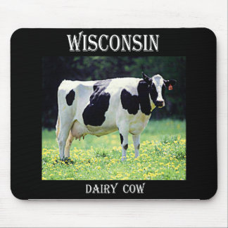 Wisconsin Dairy Cow Mouse Pad
