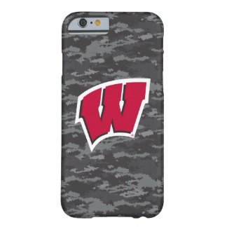 Wisconsin   Dark Digital Camo Pattern Barely There iPhone 6 Case