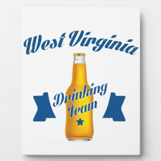 Wisconsin Drinking team Plaque