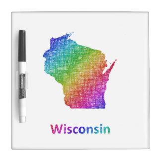 Wisconsin Dry Erase White Board