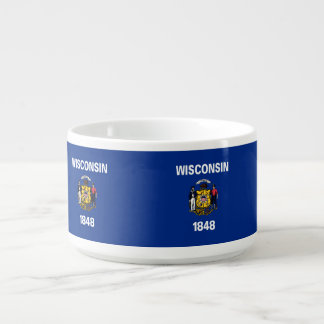 Wisconsin Flag Bowl