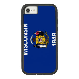 Wisconsin Flag Case-Mate Tough Extreme iPhone 8/7 Case