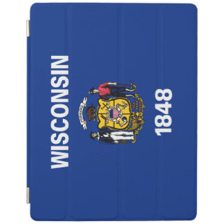 Wisconsin Flag iPad Cover