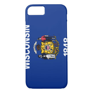 Wisconsin Flag iPhone 8/7 Case