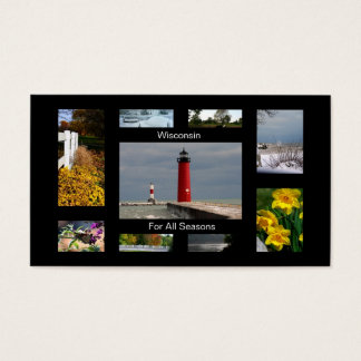 Wisconsin For All Seasons Business Card