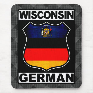 Wisconsin German American Mousemat Mouse Pad