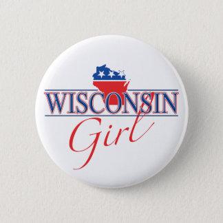 Wisconsin Girl Button