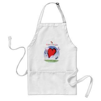 wisconsin head heart, tony fernandes standard apron