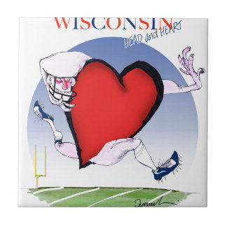 wisconsin head heart, tony fernandes tile