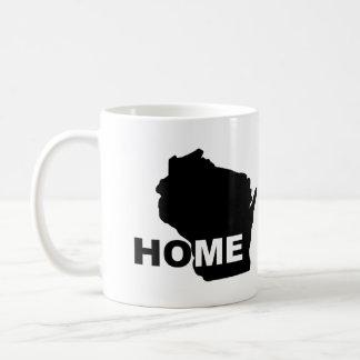 Wisconsin Home Away From State Mug or Travel Mug