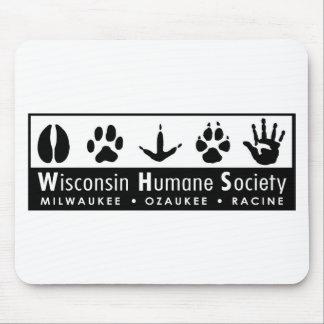 Wisconsin Humane Society Logo Mouse Pad