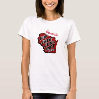 Wisconsin Jump T shirt
