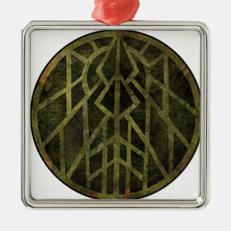 Wisconsin, Land of Barns Metal Ornament