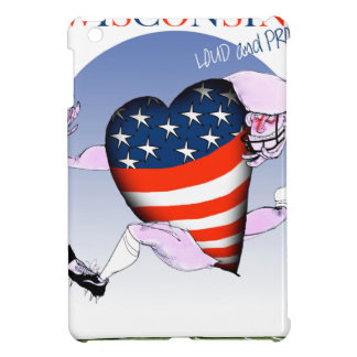 wisconsin loud and proud iPad mini cover