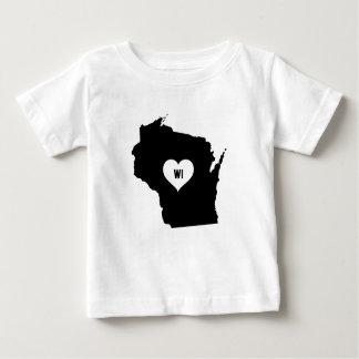 Wisconsin Love Baby T-Shirt