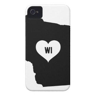 Wisconsin Love iPhone 4 Case