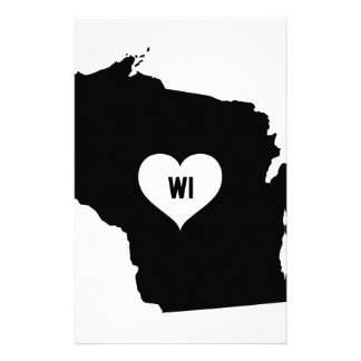 Wisconsin Love Stationery