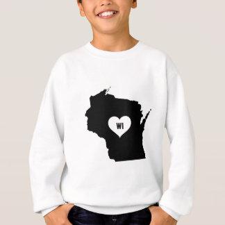 Wisconsin Love Sweatshirt