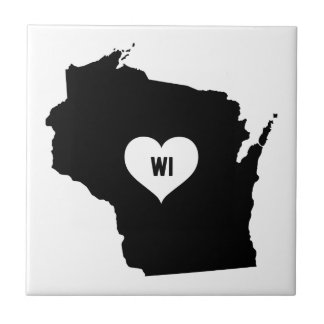 Wisconsin Love Tile