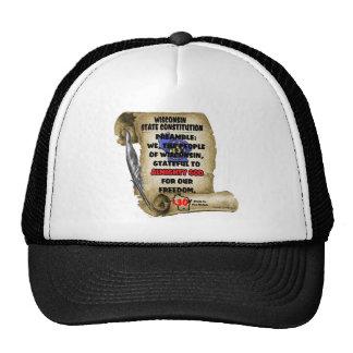 WISCONSIN LT.png Trucker Hat