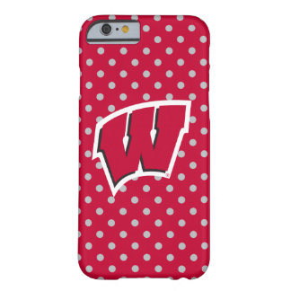 Wisconsin   Mini Polka Dots Barely There iPhone 6 Case