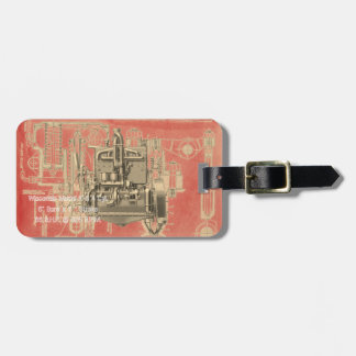 Wisconsin Motor Milwaukee Wisconsin Engine Early K Luggage Tag