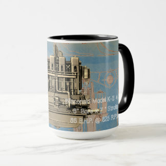Wisconsin Motor Milwaukee Wisconsin Engine Early K Mug