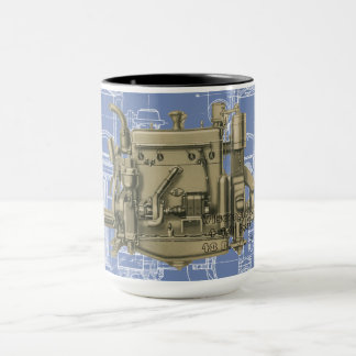 Wisconsin Motor Milwaukee Wisconsin gas engine X Mug