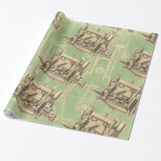 Wisconsin Motor Milwaukee Wisconsin gas engine X Wrapping Paper