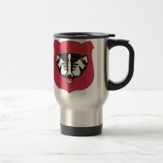 Wisconsin National Guard Insignia Travel Mug