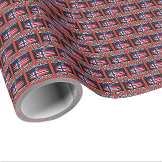 Wisconsin Norwegian American Gift Wrap