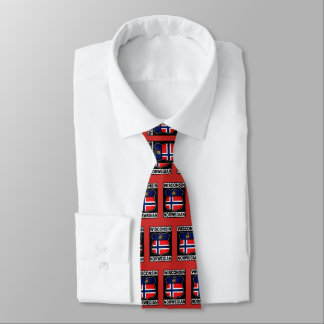 Wisconsin Norwegian American Neck Tie